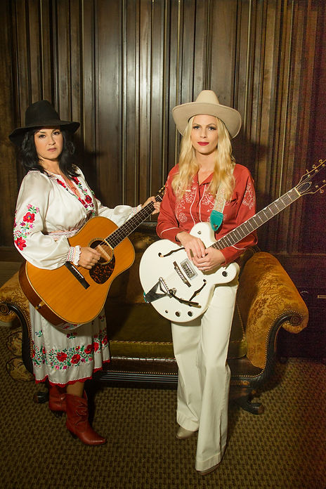 kirsten proffit and manda mosher calico the band