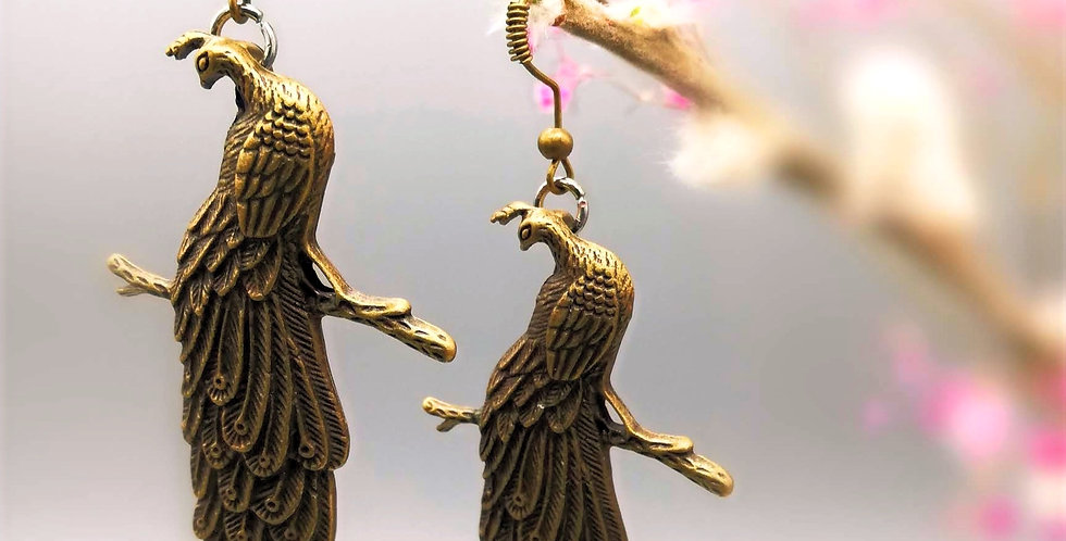 Bronzepfauen