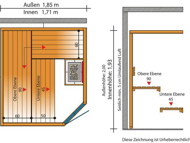 Sauna Vario Plus