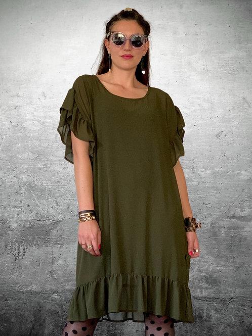 Rolling Stone Dress - Khaki