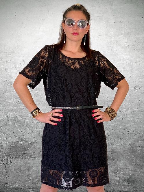 Eclipse Dress - Black Lace