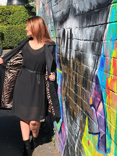 Wildside Coat - Black - Size 8
