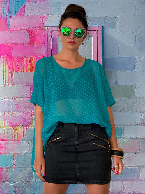 (WS) Freedom Top - Teal