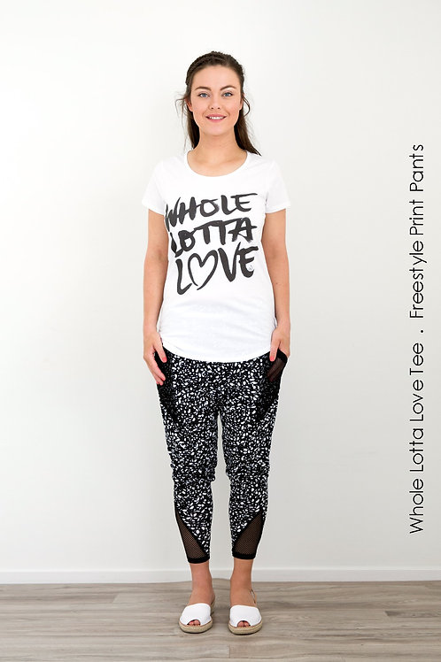 Whole Lotta Love Tee - White