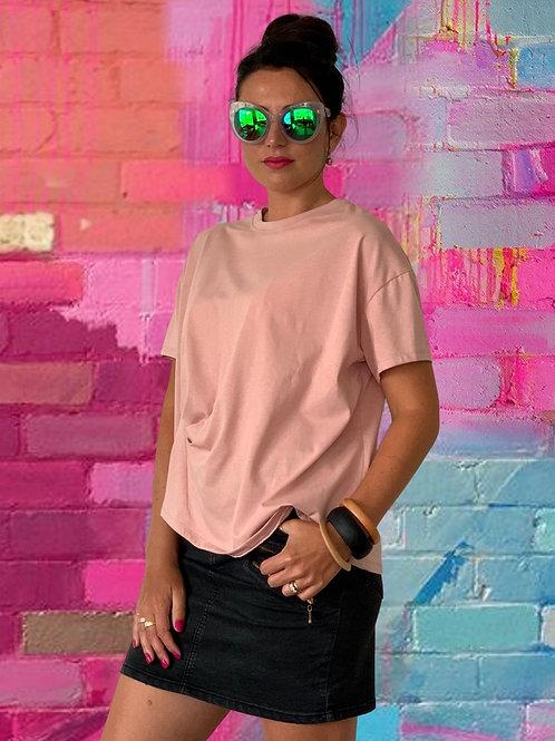 Fold Top - Blush Pink