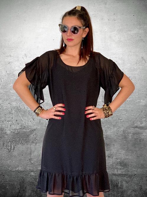 (WS) Rolling Stone Dress - Black
