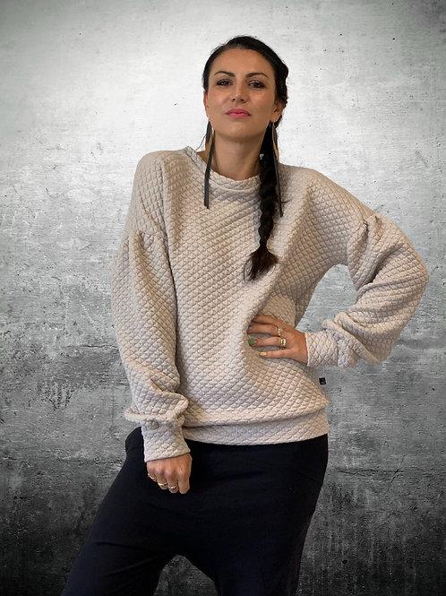 Social Sweater -Sandstone