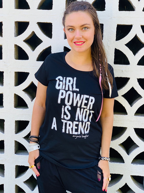 Girl Power Tee - Black