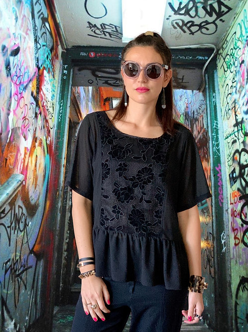 Almost Famous Top - Black