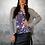 Thumbnail: (W/S) Loaded Top - Mauve Floral / Black Lace