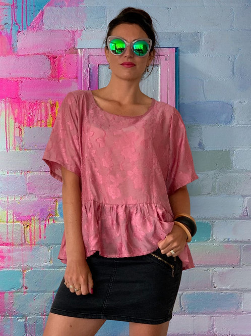 (WS) Charm Top -Pink