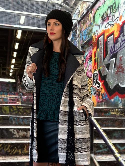 (W/S) Dream Weaver Coat - Grey / Black