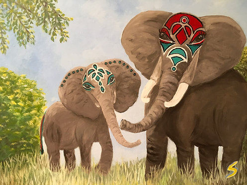Elephants with a twist