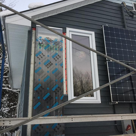 Developing Auxiliary Systems for Off-Grid Living:    Part I – Solar Air Heating