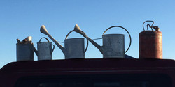 GALVANIZED CANS