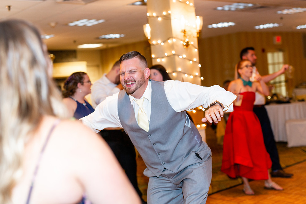 NH Wedding photographer reception dance