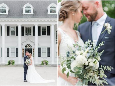 The Mansion at The Hellenic Center Wedding | NH Wedding Photographer | Ashley & Sam
