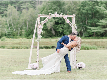 NH Wedding Photographer | Private Residence Wedding| Effingham, NH | Mary & Matt