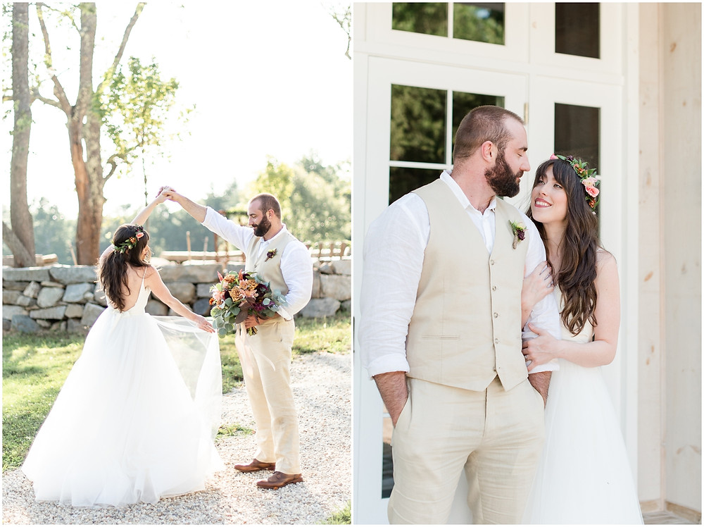 Light and Airy NH Wedding Photographer