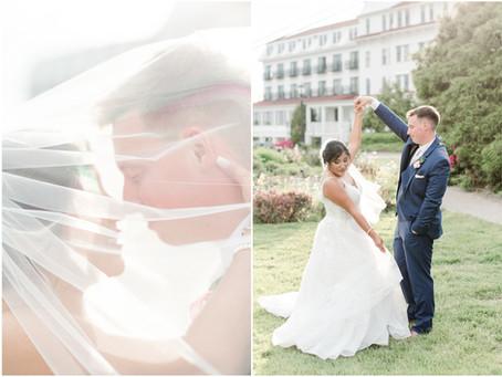 NH Wedding Photographer | Wentworth By The Sea | Juliana & Dan