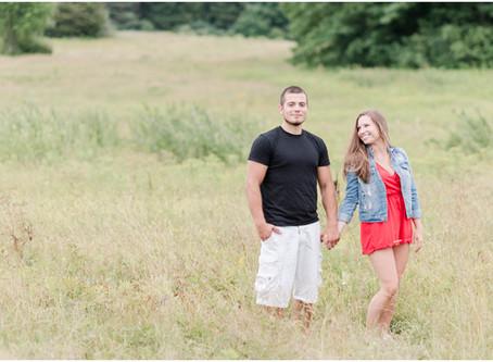 Wagon Hill Farm Engagement | Durham, NH