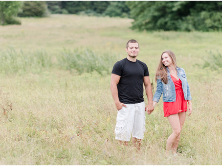 Wagon Hill Farm Engagement | Durham, NH