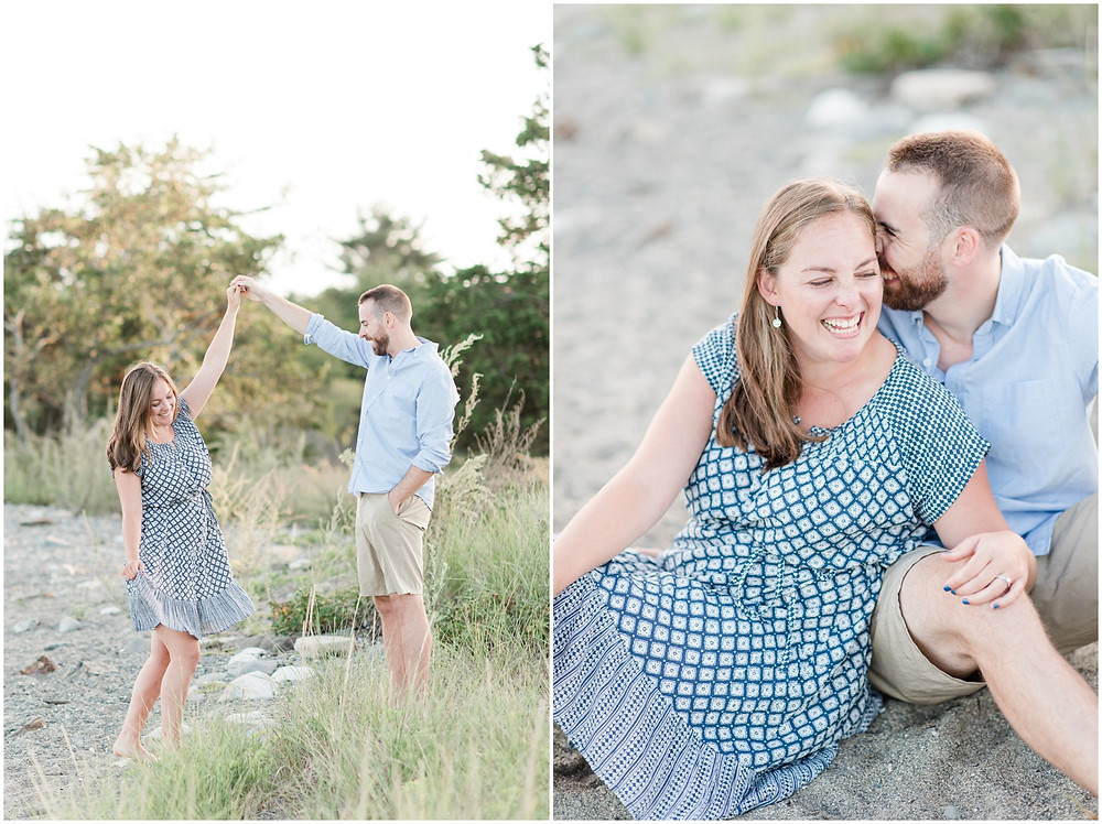 nh beach engagement photographer