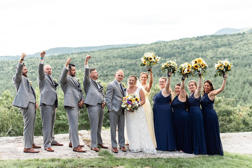 north conway wedding photographer