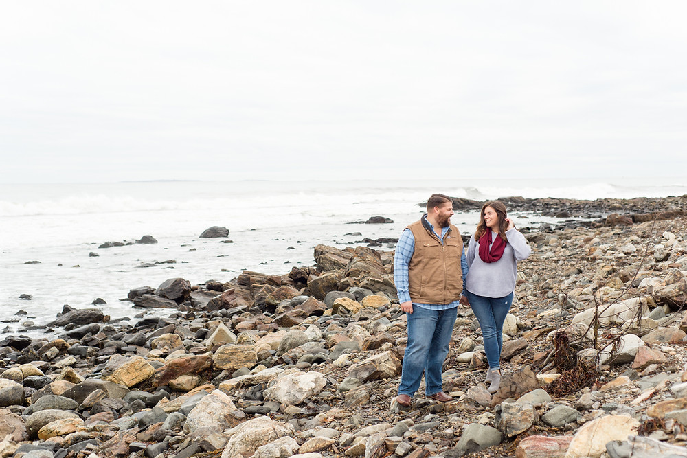 Odiorne Point State Park Engagement Session