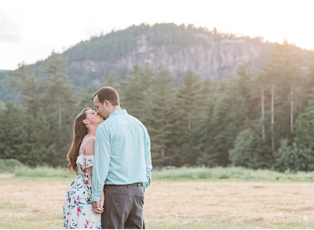 Adventure Engagement Session | Cathedral Ledge, NH | Alyssa + Greg