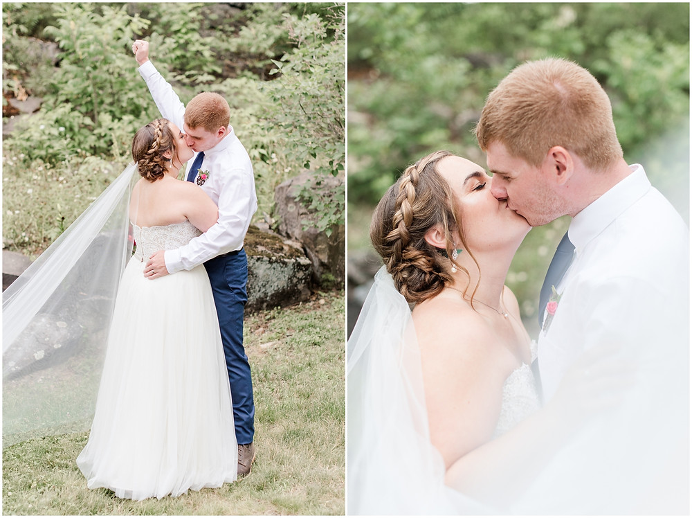nh light and airy wedding photographer