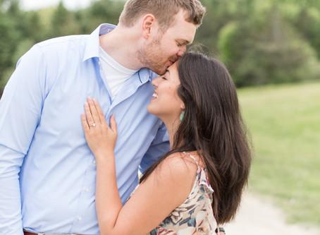 Wagon Hill Farm Engagement | Durham, NH | Ann + Alex | NH Wedding Photographer