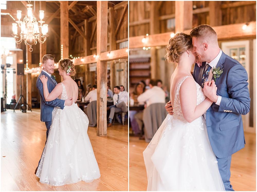 the barn at powder majors wedding