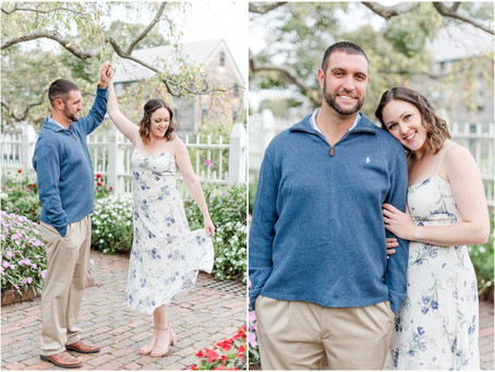 Downtown Portsmouth Engagement | Portsmouth, NH | Associate Team | Samantha + Nick