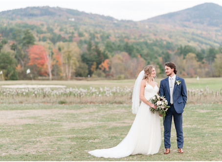 NH Wedding Photographer | Eagle Mountain House Wedding | Jill & Austin