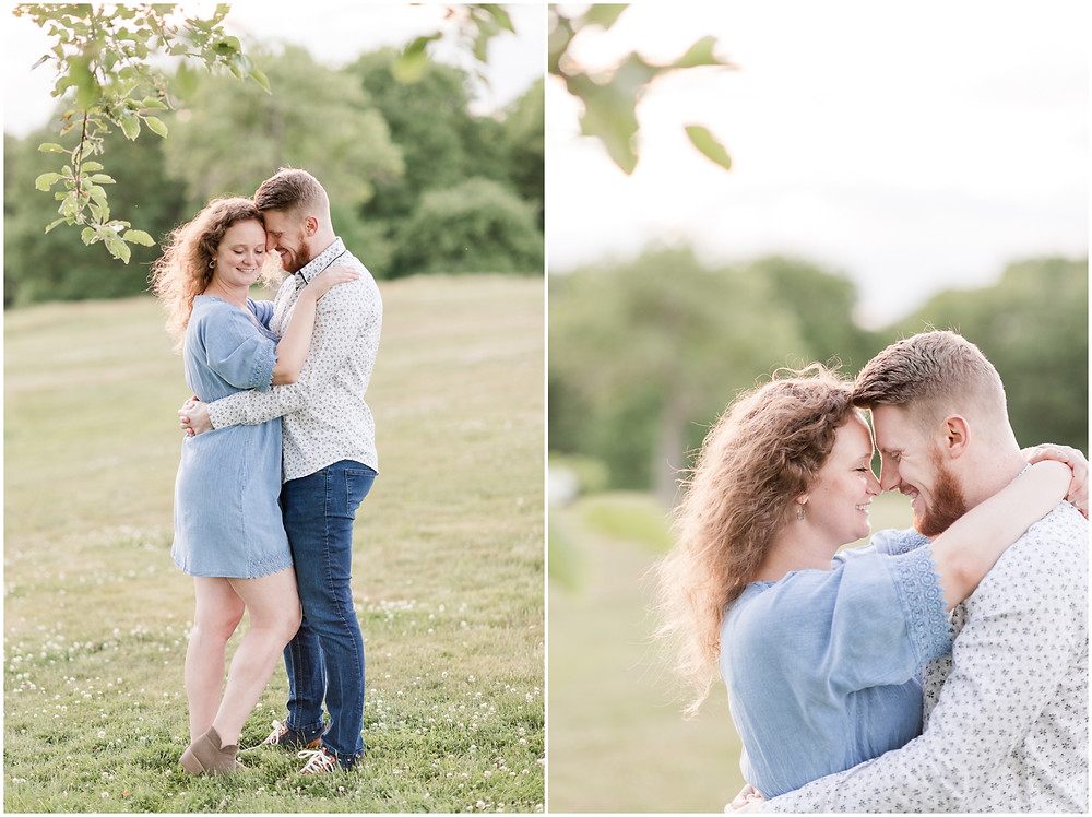 wagon hill engagement session