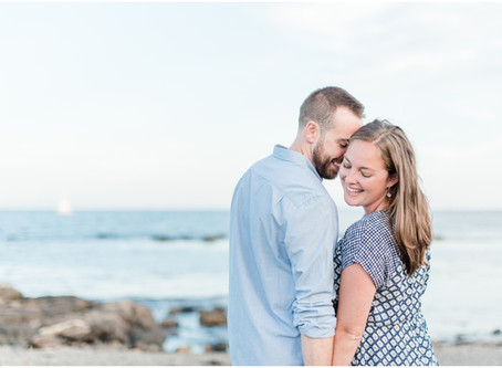 Odiorne Point State Park Engagement | Rye, NH | NH Wedding Photographer