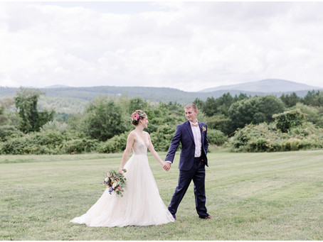 Curtis Farm Wedding | Wilton, NH | Maggie & Devon| Associate Team