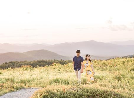 Adventure Engagement Session | Foss Mountain, NH | Christy + Zeek | NH Wedding Photographer