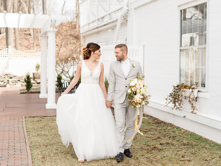 Spring Inspired Wedding | The Commons 1854 | Topsfield, MA | Wedding Photographer