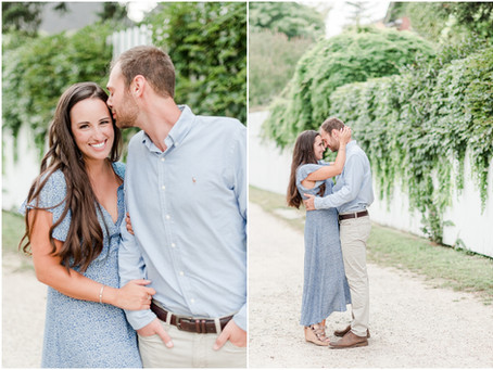 NH Wedding Photographer | Strawbery Banke Museum Engagement Session