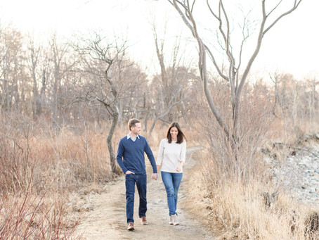 Odiorne Point State Park Engagement | Rye, NH | Erica + Brian| NH Wedding Photographer