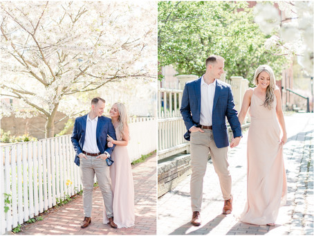 Downtown Portsmouth Engagement | Portsmouth, NH | NH Wedding Photographer