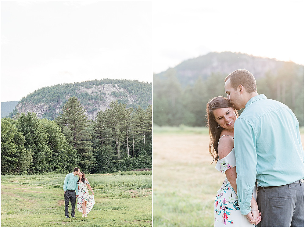 cathedral ledge engagement session