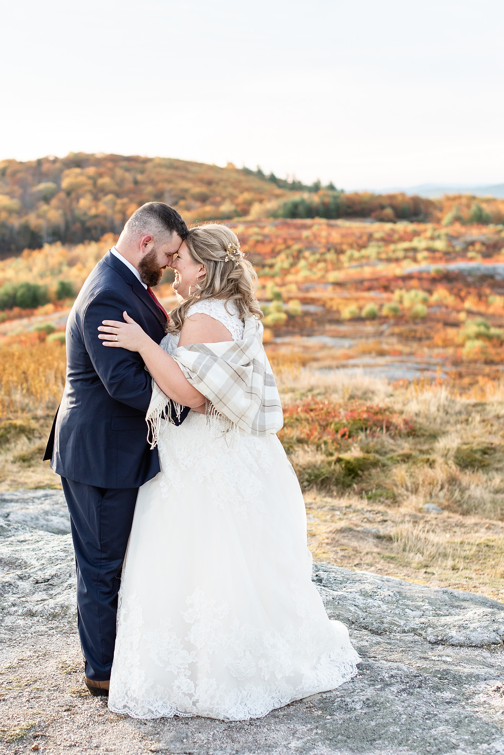 nh fall wedding