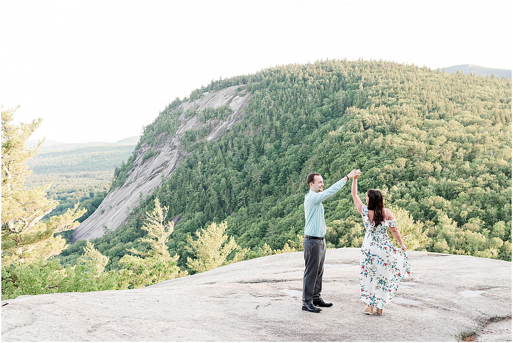 Cathedral Ledge Engagement