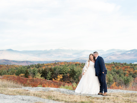 Private Residence Wedding | Freedom, NH | Allie & Ryan