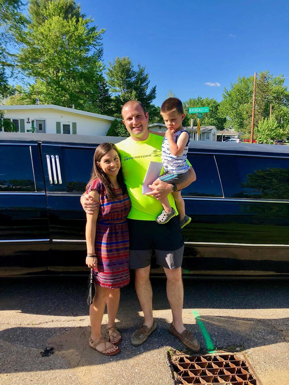 birthday limo