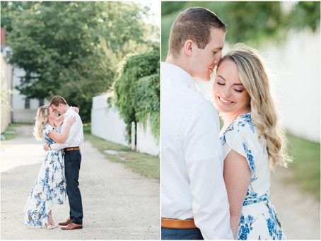 Downtown Portsmouth Engagement   Portsmouth, NH   NH Wedding Photographer