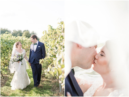 Flaghill Winery Wedding | NH Wedding Photographer | Courtney & Zack